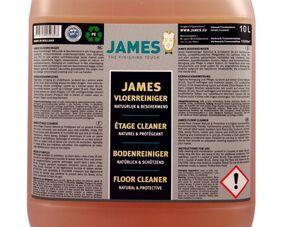Čisticí prostředky - James Floor Cleaner Natural & Protective 10 l - JMS-3321