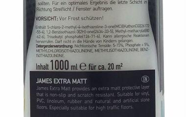 Cleaning products - James Extra Matt 1000 ml - JMS-3309