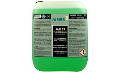 Čisticí prostředky - James Floor Cleaner Clean & Quick Dry 10 l - JMS-3320