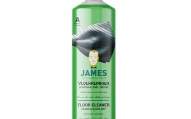 Čisticí prostředky - James Floor Cleaner Clean & Quick Dry 1000 ml - JMS-3306