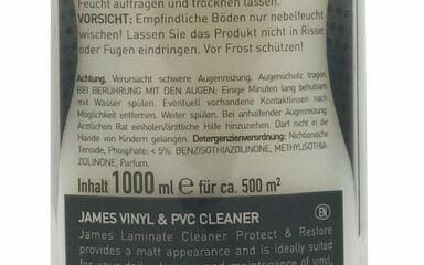 Cleaning products - James Floor Cleaner Protect & Restore 1000 ml - JMS-3307