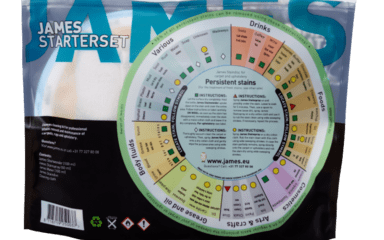Cleaning products - James Starterset na koberce a potahy - JMS-3080 - James Starterset