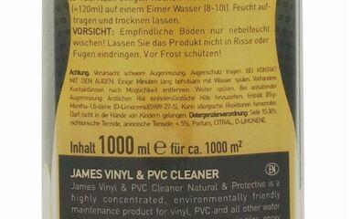 Čisticí prostředky - James Floor Cleaner Natural & Protective 1000 ml - JMS-3308