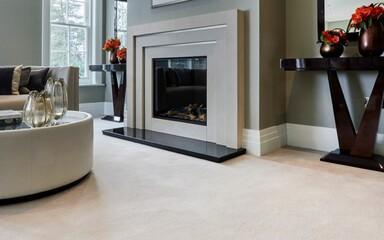 Carpets - Pure Luxury - Tundra 8,5 mm ab 100 366 400 457 500 - WEST-PLTUNDRA - Ermine