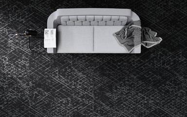 Carpets - at-Canyon 700 Econyl sd 50x50 cm - OBJC-CANYON50 - 0721 Kidney