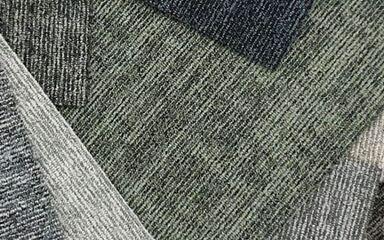 Koberce - Balance Grid sd acc 50x50 cm - BUR-BALGRID50 - 33901 Steel Grey