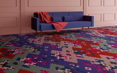 Carpets - FGI Glossy Velours wta+ 400 - OBJC-FGIGLOSSY - Enya 503