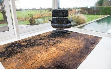 Carpets - Mad Men Cracks ltx 80x150 cm - LDP-MADMCR80 - 8618 Deep Mine