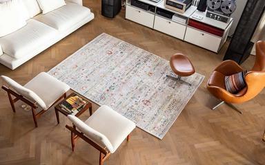 Carpets - Antiquarian Ushak ltx 140x200 cm - LDP-ANTIQUSH140 - 8884 Suleiman Grey