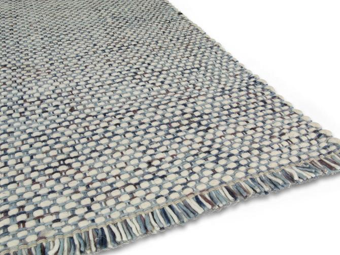 Carpets - Sunshine 200x300 cm 100% Wool  - ITC-SUNSH200300 - Blue