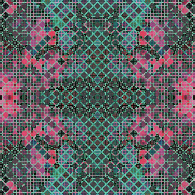 Koberce - at-FGI Glossy Velours wta+ 48x48 cm - OBJC-FGIGLOS48 - Amy 1502