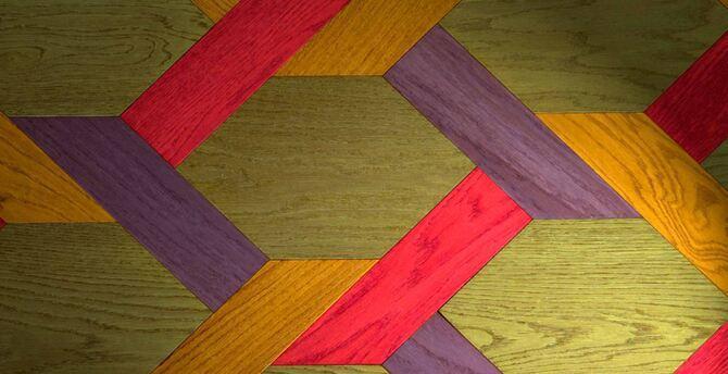 Wood - Mazzonetto Esagono and Treccia - 55957 - 2