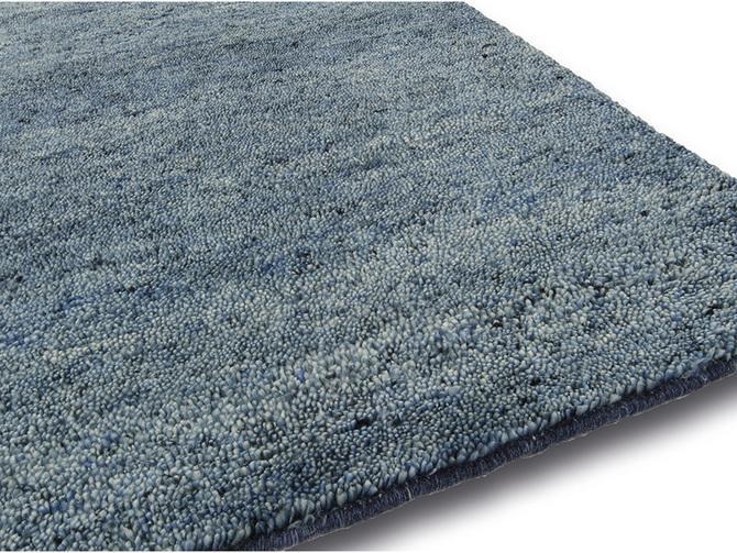 Carpets - Mateo 170x230 cm 100% Wool  - ITC-MATEO170230 - Blue